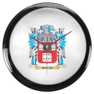 Escudo de armas de Matas - escudo de la familia Reloj Aquavista