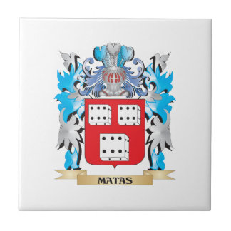 Escudo de armas de Matas - escudo de la familia Azulejo
