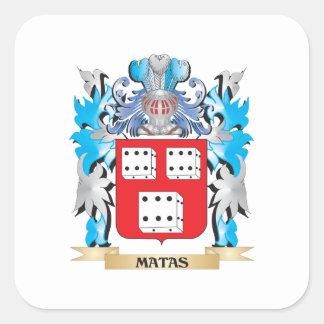 Escudo de armas de Matas - escudo de la familia Pegatina