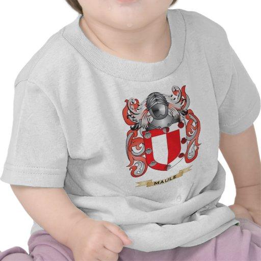 Escudo de armas de Maule (escudo de la familia) Camisetas