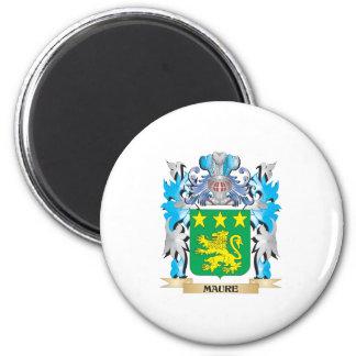 Escudo de armas de Maure - escudo de la familia Iman Para Frigorífico