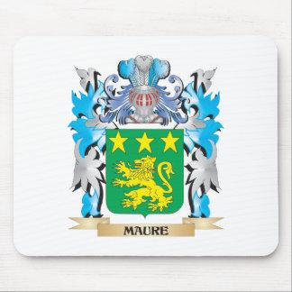 Escudo de armas de Maure - escudo de la familia Alfombrillas De Ratón
