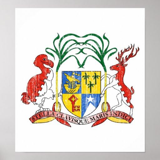 Escudo de armas de Mauricio Impresiones