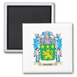 Escudo de armas de Mauro - escudo de la familia Iman De Nevera