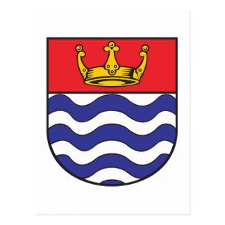 Escudo de armas de mayor Londres Tarjetas Postales