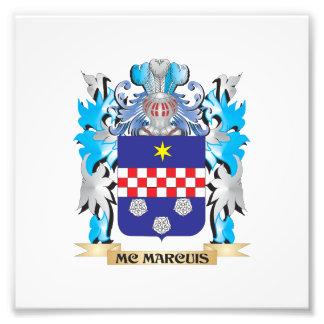 Escudo de armas de Mc-Marcuis - escudo de la Fotografía
