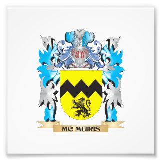 Escudo de armas de Mc-Muiris - escudo de la Impresión Fotográfica