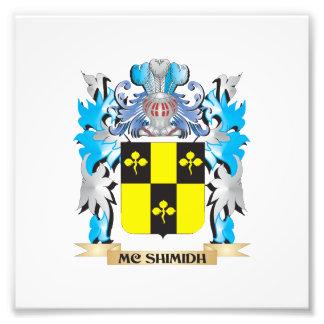 Escudo de armas de Mc-Shimidh - escudo de la Arte Fotografico