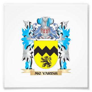 Escudo de armas de Mc-Varish - escudo de la Fotografías