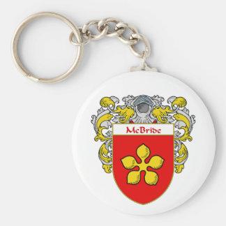 Escudo de armas de McBride (cubierto) Llaveros