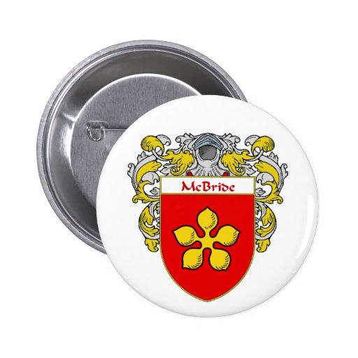 Escudo de armas de McBride (cubierto) Pins