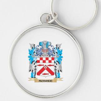 Escudo de armas de Mcbride - escudo de la familia Llavero Personalizado