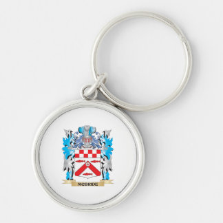 Escudo de armas de Mcbride - escudo de la familia Llaveros Personalizados