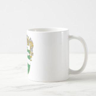 Escudo de armas de McCabe (cubierto) Taza De Café