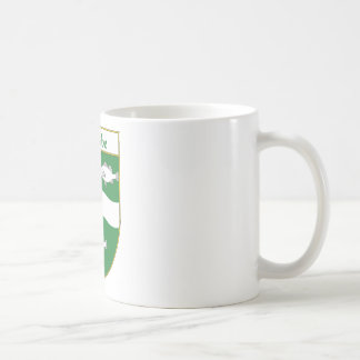 Escudo de armas de McCabe/escudo de la familia Tazas De Café