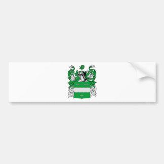 Escudo de armas de McCabe Pegatina Para Auto