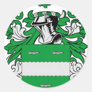 Escudo de armas de McCabe Pegatina Redonda