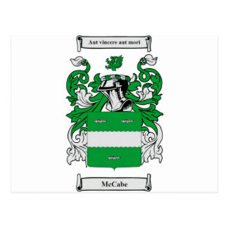 Escudo de armas de McCabe Postales