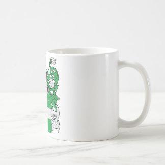 Escudo de armas de McCabe Tazas De Café