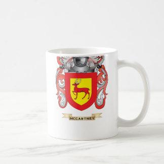 Escudo de armas de McCartney escudo de la familia Taza De Café