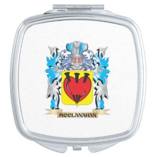 Escudo de armas de Mcclanahan - escudo de la Espejos De Maquillaje