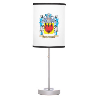 Escudo de armas de Mcclanahan - escudo de la Lámpara De Mesa