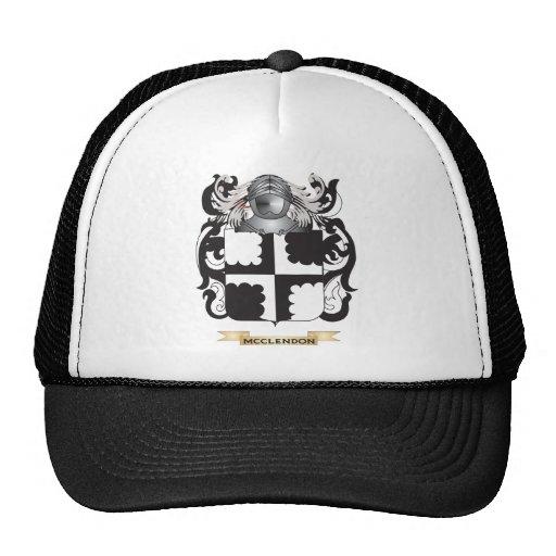 Escudo de armas de McClendon (escudo de la familia Gorras De Camionero