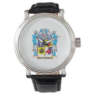 Escudo de armas de Mcconnell - escudo de la Reloj