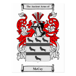 Escudo de armas de McCoy Postal