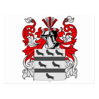 Escudo de armas de McCoy Tarjetas Postales
