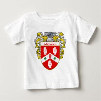 Escudo de armas de McCullen (cubierto) Playera De Bebé
