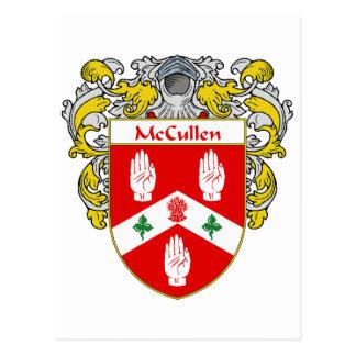 Escudo de armas de McCullen (cubierto) Tarjeta Postal