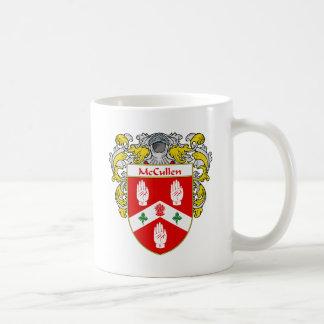 Escudo de armas de McCullen (cubierto) Taza De Café