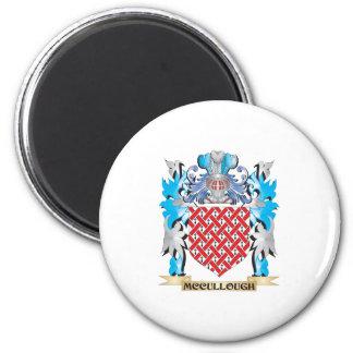 Escudo de armas de Mccullough - escudo de la Imán Para Frigorifico