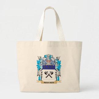 Escudo de armas de Mccurdy - escudo de la familia Bolsas De Mano