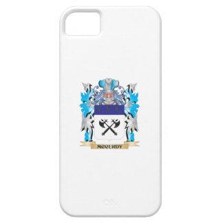 Escudo de armas de Mccurdy - escudo de la familia iPhone 5 Case-Mate Coberturas