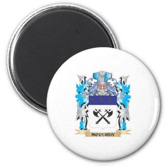 Escudo de armas de Mccurdy - escudo de la familia Iman De Nevera