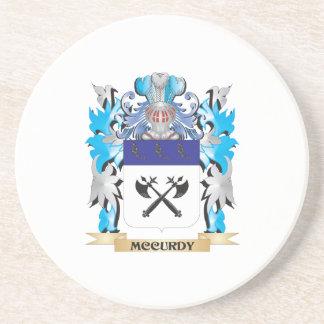 Escudo de armas de Mccurdy - escudo de la familia Posavaso Para Bebida