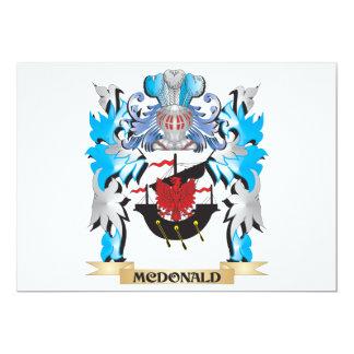 Escudo de armas de Mcdonald - escudo de la familia