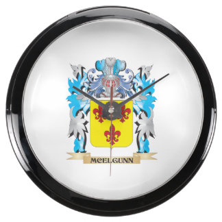 Escudo de armas de Mcelgunn - escudo de la familia Relojes Acuario