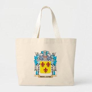 Escudo de armas de Mcelgunn - escudo de la familia Bolsa