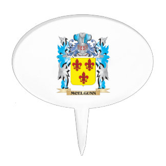 Escudo de armas de Mcelgunn - escudo de la familia Palillos De Tarta