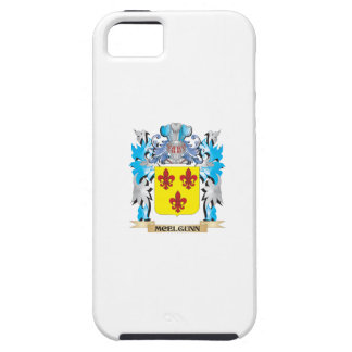 Escudo de armas de Mcelgunn - escudo de la familia iPhone 5 Carcasa