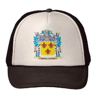 Escudo de armas de Mcelgunn - escudo de la familia Gorro De Camionero
