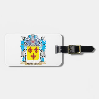 Escudo de armas de Mcelgunn - escudo de la familia Etiquetas Para Equipaje