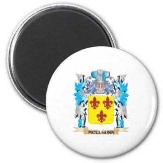 Escudo de armas de Mcelgunn - escudo de la familia Iman