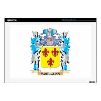 Escudo de armas de Mcelgunn - escudo de la familia 43,2cm Portátil Calcomanía