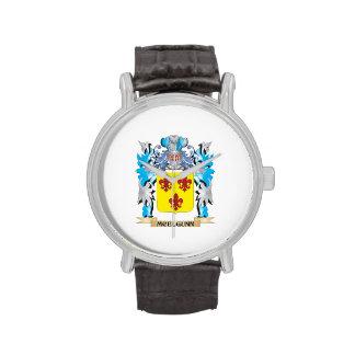 Escudo de armas de Mcelgunn - escudo de la familia Reloj