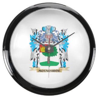 Escudo de armas de Mcenchroe - escudo de la Relojes Pecera
