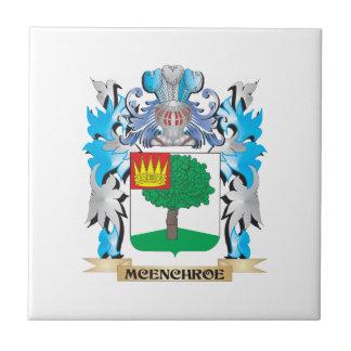 Escudo de armas de Mcenchroe - escudo de la Azulejo